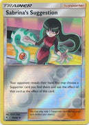 65/68 Sabrina's Suggestion Trainer Uncommon Reverse Holo Hidden Fates - The Feisty Lizard Melbourne Australia