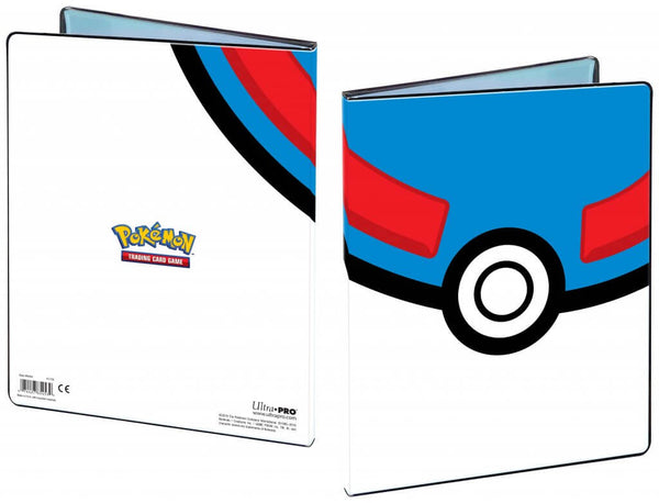 ULTRA PRO Pokémon Portfolio Folder 9PKT Great Ball - The Feisty Lizard Melbourne Australia