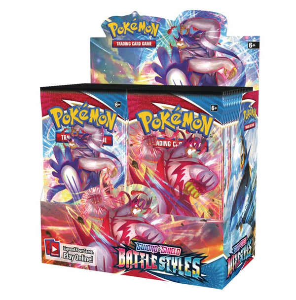 Pokemon TCG Sword & Shield Battle Styles Booster Box (PRE-ORDER) - The Feisty Lizard Melbourne Australia