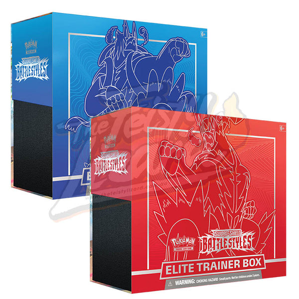 Pokemon TCG Sword & Shield Battle Styles Elite Trainer Box (PRE-ORDER) - The Feisty Lizard Melbourne Australia