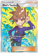 231/236 Blue's Tactics Full Art Trainer  Ultra Rare - The Feisty Lizard Melbourne Australia