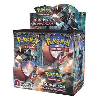 Pokemon TCG Sun & Moon Burning Shadows Booster Box - The Feisty Lizard