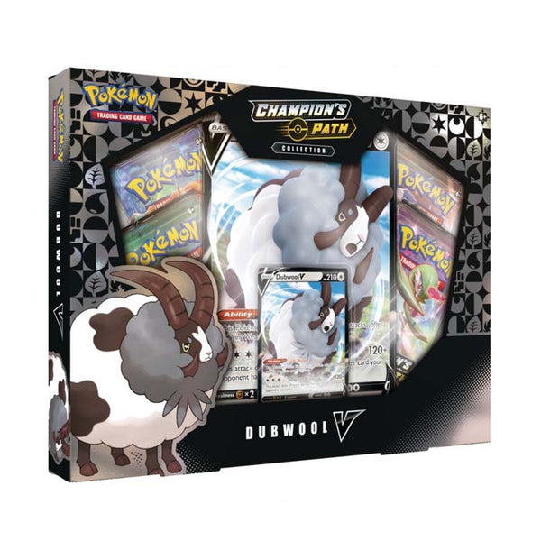 Pokemon TCG Champion's Path Collection Dubwool V Box - The Feisty Lizard