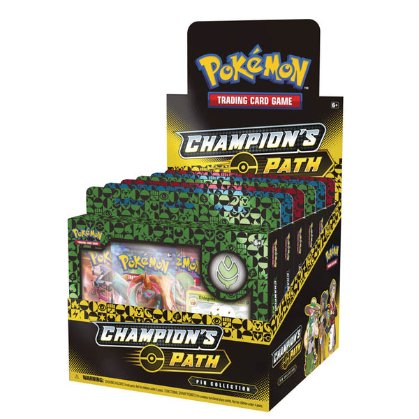 Pokemon TCG Champion's Path Pin Collection Wave 1 (x 2 Pin Boxes) (PRE-ORDER) - The Feisty Lizard Melbourne Australia