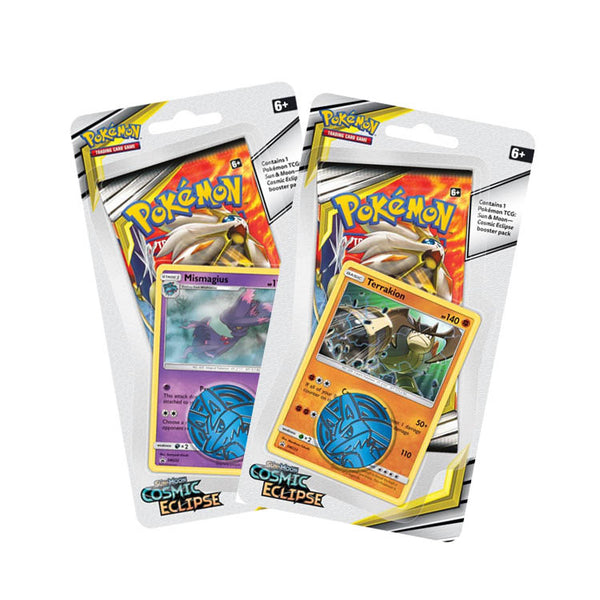 Pokemon TCG Sun & Moon Cosmic Eclipse Collectors Checklane Blister - The Feisty Lizard