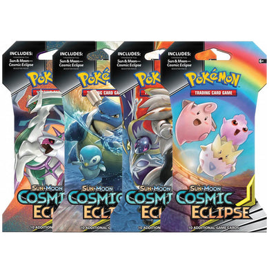 Pokemon TCG Sun & Moon Cosmic Eclipse Booster Blister Pack - The Feisty Lizard