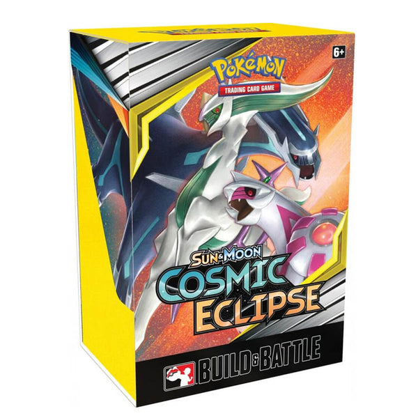 Pokemon TCG Sun & Moon Cosmic Eclipse Build & Battle Box - The Feisty Lizard Melbourne Australia