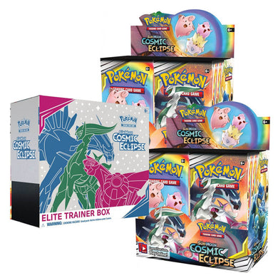 Pokemon TCG Sun & Moon Cosmic Eclipse Bundle - The Feisty Lizard