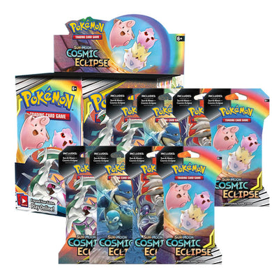 Pokemon TCG Sun & Moon Cosmic Eclipse Bundle 3 (PRE-ORDER) - The Feisty Lizard