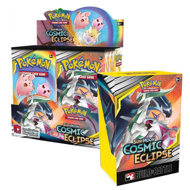 Pokemon TCG Sun & Moon Cosmic Eclipse Bundle 4 (PRE-ORDER) - The Feisty Lizard