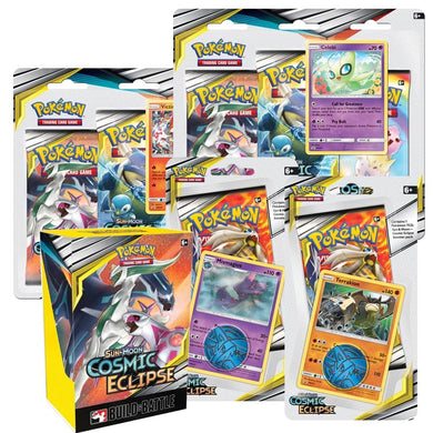 Pokemon TCG Sun & Moon Cosmic Eclipse Bundle 6 (PRE-ORDER) - The Feisty Lizard