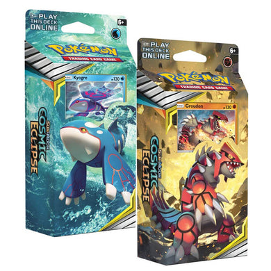 Pokemon TCG Sun & Moon Cosmic Eclipse Theme Deck - The Feisty Lizard