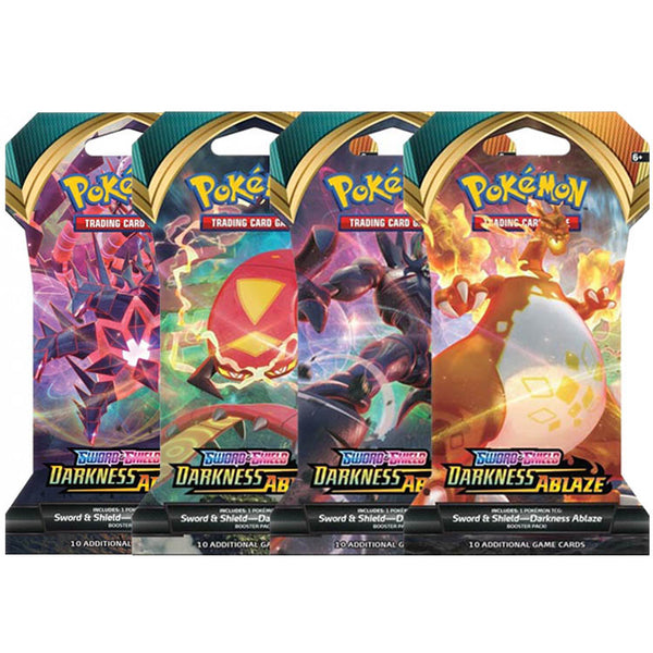 Pokemon TCG Sword & Shield Darkness Ablaze Blister Pack (PRE-ORDER)