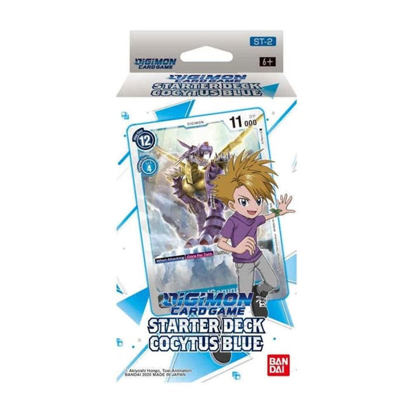 Digimon Card Game Series 01 Starter Display 02 Cocytus Blue (PRE-ORDER) - The Feisty Lizard Melbourne Australia