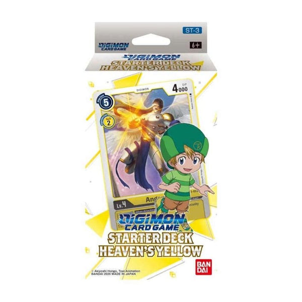 Digimon Card Game Series 01 Starter Display 03 Heavens Yellow (PRE-ORDER) - The Feisty Lizard Melbourne Australia