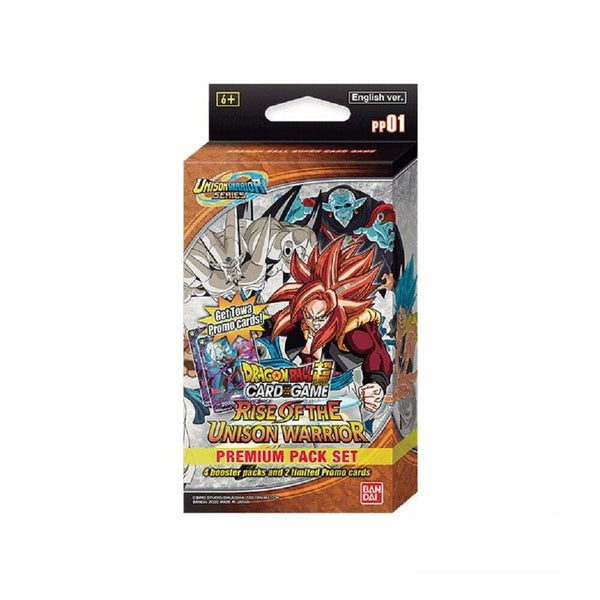 Dragon Ball Super Card Game Premium Pack Set 01 Rise of the Unison Warrior - The Feisty Lizard Melbourne Australia