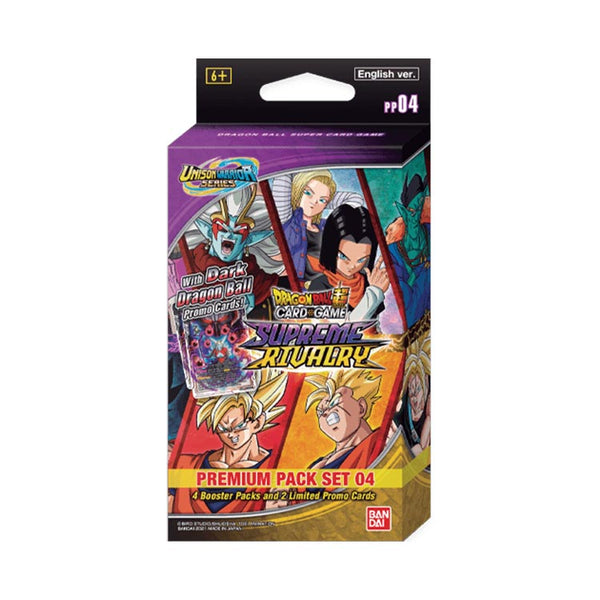 Dragon Ball Super Card Game Unison Warrior Premium Pack 04 (PRE-ORDER) - The Feisty Lizard Melbourne Australia