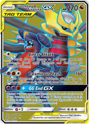 228/236 Garchomp & Giratina GX Tag Team Ultra Rare - The Feisty Lizard Melbourne Australia
