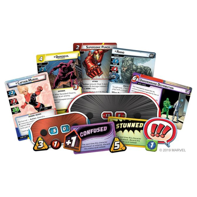 Marvel Champions The Card Game Core Set - The Feisty Lizard Melbourne Australia
