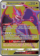 230/236 Naganadel GX  Ultra Rare - The Feisty Lizard
