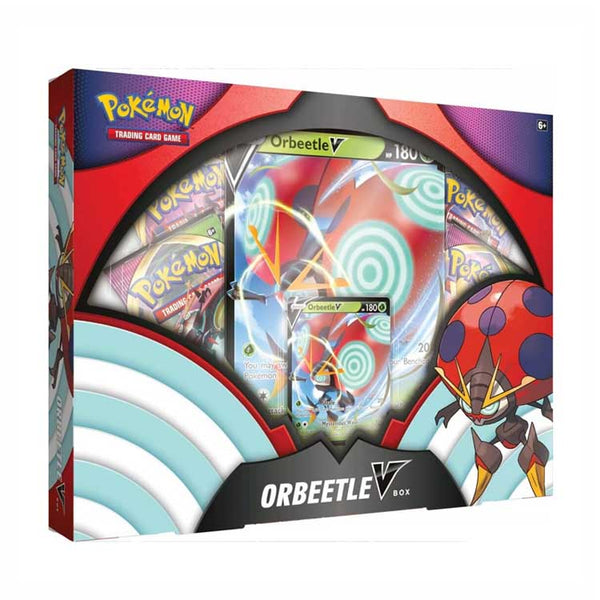Pokemon TCG Orbeetle V Box - The Feisty Lizard