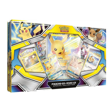 Pokemon TCG Pikachu & Eevee GX Special Collection Box (PRE-ORDER) - The Feisty Lizard