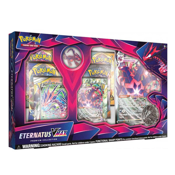 Pokemon TCG Eternatus VMAX Premium Collection Box - The Feisty Lizard Melbourne Australia