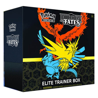 Pokemon TCG Sun & Moon Hidden Fates Elite Trainer Box - The Feisty Lizard