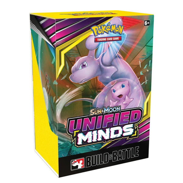 Pokemon TCG Sun & Moon Unified Minds Build & Battle Box - The Feisty Lizard