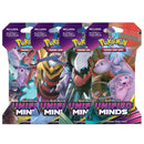 Pokemon TCG Sun & Moon Unified Minds Booster Blister Pack - The Feisty Lizard Melbourne Australia