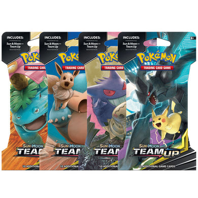 Pokemon TCG Card Sun Moon Team Up Booster Blister Pack