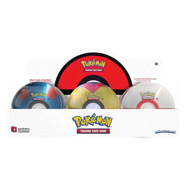 Pokemon TCG Poké Ball Tin Series 6 (PRE-ORDER) - The Feisty Lizard