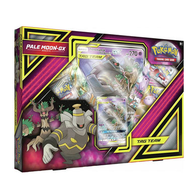 Pokemon TCG Pale Moon GX Box - The Feisty Lizard