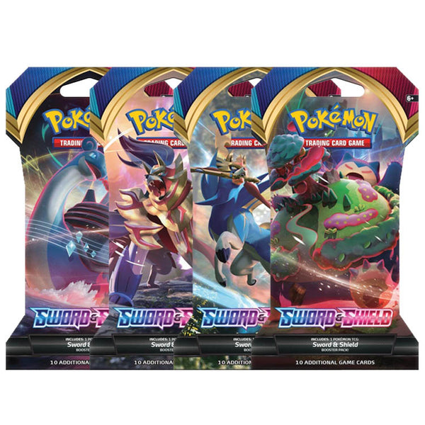 Pokemon TCG Sword & Shield Booster Blister Box x36 Boosters (PRE-ORDER) - The Feisty Lizard