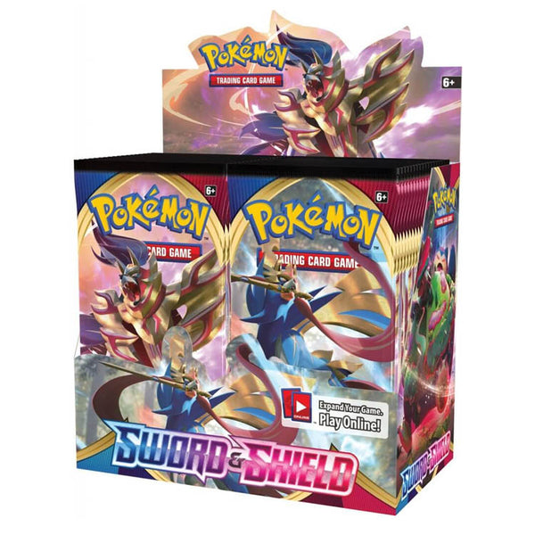 Pokemon TCG Sword & Shield Booster Box - The Feisty Lizard