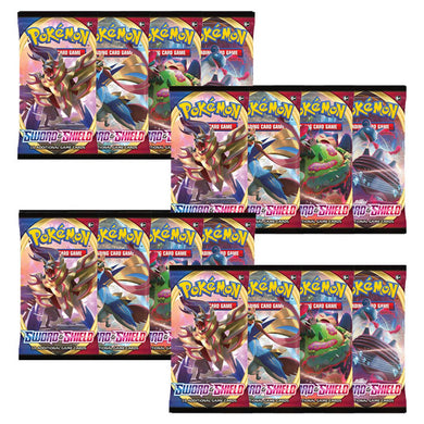 Pokemon TCG Sword & Shield Booster Pack x18 (PRE-ORDER) - The Feisty Lizard