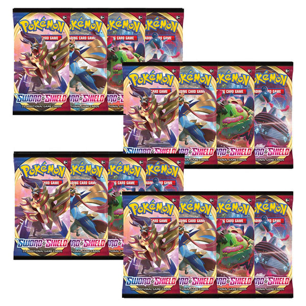 Pokemon TCG Sword & Shield Booster Pack x18 - The Feisty Lizard