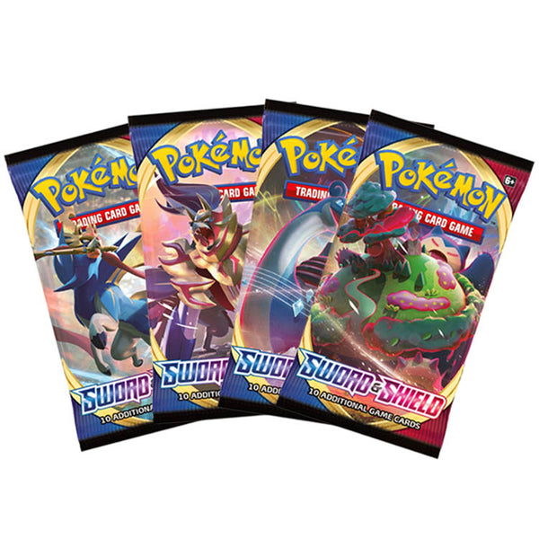 Pokemon TCG Sword & Shield Booster Pack - The Feisty Lizard