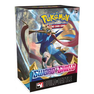 Pokemon TCG Sword & Shield Build & Battle Box (PRE-ORDER) - The Feisty Lizard