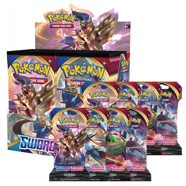 Pokemon TCG Sword & Shield Bundle 1 (PRE-ORDER) - The Feisty Lizard