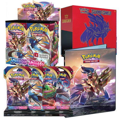 Pokemon TCG Sword & Shield Bundle 3 (Zacian) (PRE-ORDER) - The Feisty Lizard
