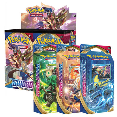 Pokemon TCG Sword & Shield Bundle 4 (PRE-ORDER) - The Feisty Lizard
