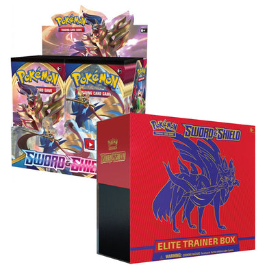 Pokemon TCG Sword & Shield Bundle 6 (Zacian) (PRE-ORDER)