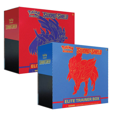 Pokemon TCG Sword & Shield Elite Trainer Box (PRE-ORDER) - The Feisty Lizard