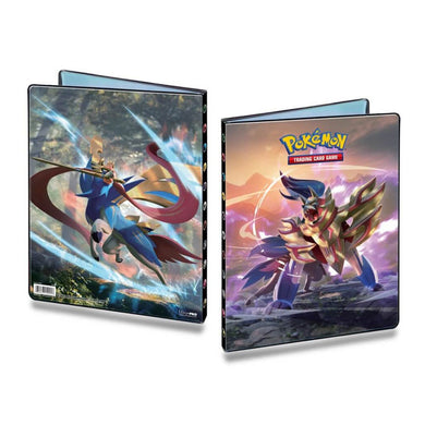 Pokemon TCG Sword & Shield Portfolio 9PKT Folder (PRE-ORDER) - The Feisty Lizard