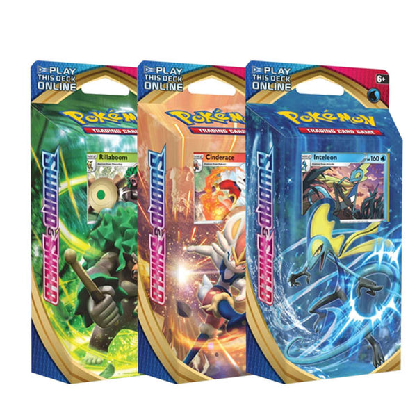 Pokemon TCG Sword & Shield Theme Deck - The Feisty Lizard