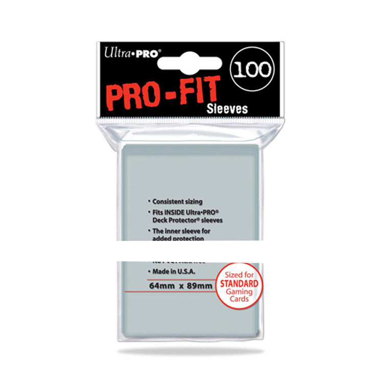 ULTRA PRO Card Sleeves Pro-Fit Standard 64mm x 89mm - The Feisty Lizard Melbourne Australia