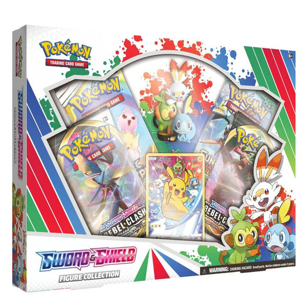 Pokemon TCG Sword & Shield Figure Collection - The Feisty Lizard Melbourne Australia