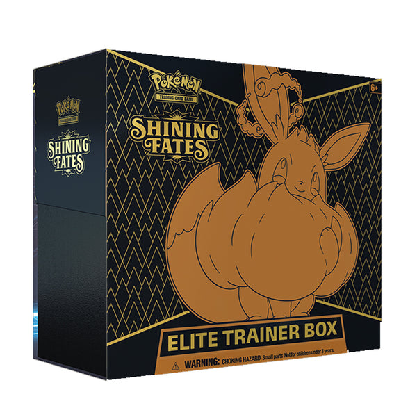 Pokemon TCG Shining Fates Elite Trainer Box (PRE-ORDER) MAX 2 PER CUSTOMER - The Feisty Lizard Melbourne Australia