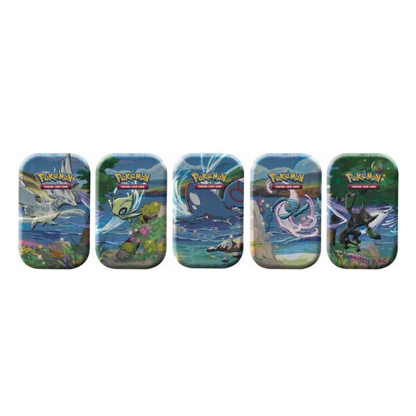 Pokemon TCG Shining Fates Mini Tin Bundle of 5 (PRE-ORDER) - The Feisty Lizard Melbourne Australia